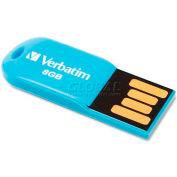Verbatim® Micro USB Drive, 47425, 2.0, 8GB, Blue