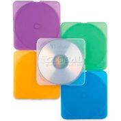 "Verbatim® Trimpak CD/DVD Case, 93804, 5-5/8"" X 4-15/16"", 10/Pk, Assorted"