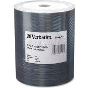 Verbatim® DVD-R, 97016, 16X Speed, 4.7GB, Inkjet Printable, Wrapped, 100/Pk, White