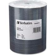 Verbatim® DVD-R, 97017, 16X Speed, 4.7GB, 100/Pk, Silver