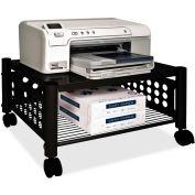 """Vertiflex Products® Underdesk Machine Stand, 21-1/2""""x17-7/8""""x11-1/2"""", Black"""
