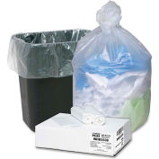 Webster Ultra Plus Trash Can Liners - Natural, 33 Gallon, 0.43 Mil