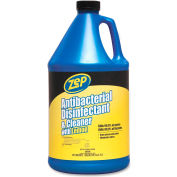 Zep Inc. Antibacterial Disinfectant and Cleaner Gallon Bottle - ZPEZUBAC128