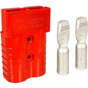 SB® APP® Connector 6322G1 - 2/0 Wire Gauge - 350 Amp - Red
