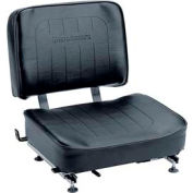 "TVH Parts Vinyl Forklift Seat SY1811 - 18""L x 23-1/2""W x 18""H"
