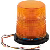 Meteorlite 22050 High-Profile Strobe Light SY22050H-A, 12-48 Volts, Permanent Mount, Amber