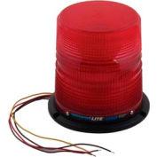 Meteorlite 22050 High-Profile Strobe Light SY22050H-R, 12-48 Volts, Permanent Mount, Red