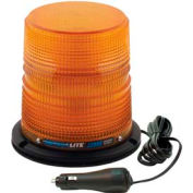 Meteorlite™ 22050 High-Profile Strobe Light SY22050HM-A - 12-48 Volts - Magnetic Mount - Amber