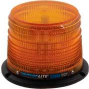 Meteorlite™ 22050 Low-Profile Strobe Light SY22050L-A - 12-48 Volts - Permanent Mount - Amber