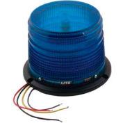 Meteorlite™ 22050 Low-Profile Strobe Light SY22050L-B - 12-48 Volts - Permanent Mount - Blue