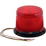 Meteorlite™ 22050 Low-Profile Strobe Light SY22050L-R - 12-48 Volts - Permanent Mount - Red