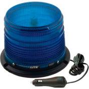 Meteorlite 22050 Low-Profile Strobe Light SY22050LM-B, 12-48 Volts, Magnetic Mount, Blue