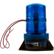 Meteorlite™ 5 High-Profile Strobe Light SY361005-B-LED - 12-80 Volts - Permanent Mount - Blue