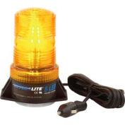 Meteorlite 5 High-Profile Strobe Light, 12-24 Volts, Magnetic Mount, Amber SY361005M-A-LED
