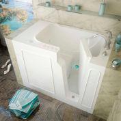 MediTub 2952 Series Rectangular Air & Whirlpool Walk-In Bathtub, 29 x 52, Right Drain, White