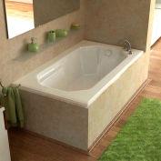 Atlantis Whirlpools Mirage Rectangular Soaking Bathtub, 36 x 60, Left or Right Drain, White