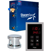 SteamSpa Oasis OAT750CH Touch Pad Steam Generator Package, 7.5KW, Polished Chrome