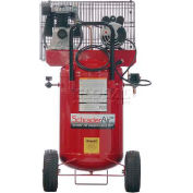 Schrader® Prosumer Air Compressor SA1526, Portable, 2 HP, 115V, 1 Phase, 26 Gal