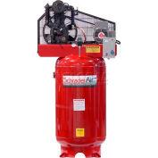 Schrader® Two-Stage Electric Air Compressor SA3580V3, 208V/230V, 5HP, 3PH, 80 Gal