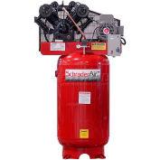 Schrader® Two-Stage Electric Air Compressor SA37580V3, 208V/230V, 7.5HP, 3PH, 80 Gal