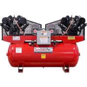 Schrader® Duplex Pro Air Compressor SA4751203, 7.5 Per Motor HP, 208/230V, 3PH, 120 Gal.