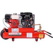 Schrader® Honda Gas Powered Air Compressor SA758H, Honda Gas Powered, 5.5 HP, 8 Gal.
