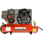 Schrader® Two-Stage Gas Powered Air Compressor SA788BE, Briggs & Stratton, 8HP, 8 Gal