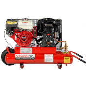 Schrader® Two-Stage Gas Powered Air Compressor SA788H, Honda, 8HP, 8 Gal