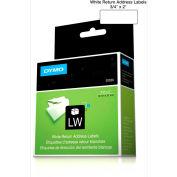 "DYMO® LW Return Address Labels 3/4"" x 2"" Black on White"