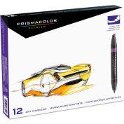Prismacolor® Premier Art Marker Set - Dual-Tip - Assorted Colors - 12 Pack