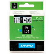 "DYMO® D1 Standard Labels 1"" Black on White"