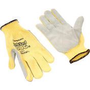Honeywell&# Junk Yard Dog® Premium Leather Palm Gloves, Mens Size, 1 Pair