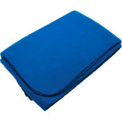 Fleece Blanket with Velcro Carrying Strap