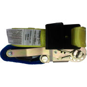 "Safeway 10P30FH 2"" x 30' Ratchet with Flat Hooks 10,000 Lb. Capacity"