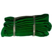 "Safeway SR-2X10 4/5"" x 10' Saf/Grip Endless Polyester Round Sling, Green"