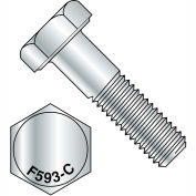"1/2-13 x 10"" 18-8 Stainless Steel Hex Head Cap Screw Pkg Of 25"