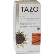 Starbucks® Tazo Organic Tea, Chai Spice, Single Cup Bags, 24/Box