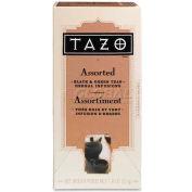 Starbucks® Tazo Tea, Assorted Black/Green, Single Cup Bags, 24/Box