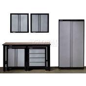 Stack-On™ 6 Piece Pre-Assembled Garage Storage System