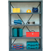 Strong Hold Open Shelving Unit 48 x 18 x 72