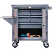 Strong Hold Products 3-TC-240-4/5-1DB-VS Free Rolling Maintenance Cart