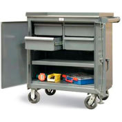 Strong Hold Products 3-TC-241-4/5DB Four Drawer Tool Cart