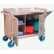 """Strong Hold Products 4-TC-261-VS-SS Mobile Cart with 8"""" Casters"""