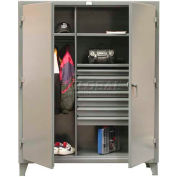 Strong Hold® Heavy Duty Combination Cabinet 45-W-242-7DB - With 7 Drawers 48 x 24 x 66