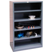 Strong Hold Closed Shelving Unit 48 x 24 x 72