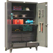 Strong Hold® Heavy Duty Work Station Cabinet 46-PB-244SOS-6/5DBPH - 48 x 24 x 78
