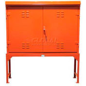 Strong Hold® Outdoor Storage Cabinet 53.5-WP-151-24 - On Stand w/Rainguard 60 - 7/32x15x67-1/2