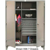 Strong Hold® Heavy Duty Combination Cabinet 56-W-244-4DB - With 4 Drawers 66 x 24 x 78