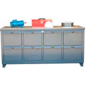 Strong Hold 8 Heavy-Duty Drawer Cabinet 72 x 30 x 29 5/16