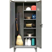 Strong Hold® Heavy Duty Closet Storage Cabinet 65-BC-243 - 72 x 24 x 66